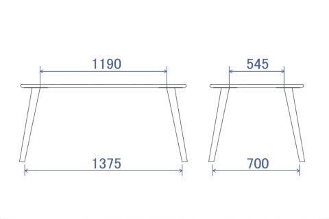 フレア Dテーブル150