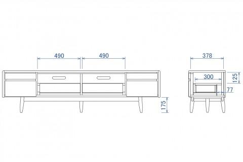 ソレール TVボード180